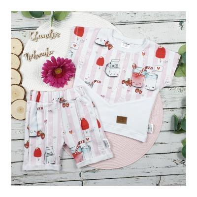 Sofortkauf Handmade Erdbeertraum Short-Louie Shirt Mogli