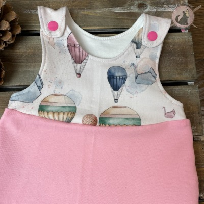 Sofortkauf Strampler Fliegender Elefant rosa Gr