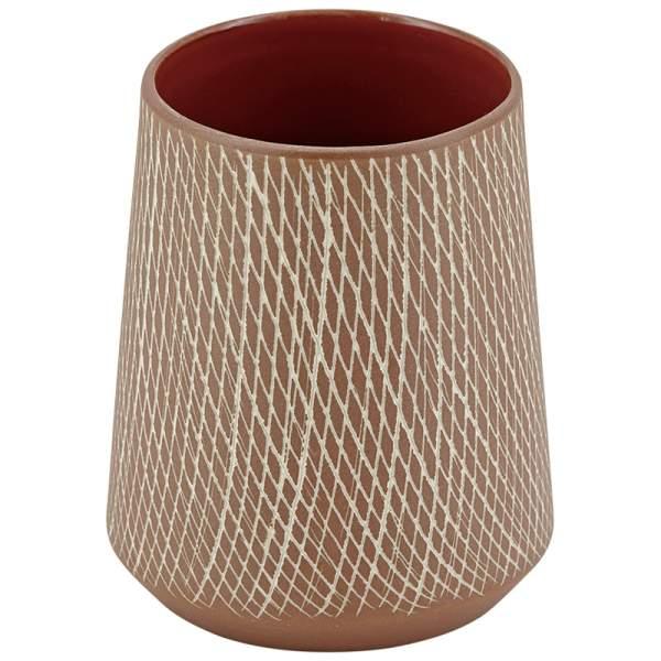 Vase CAROL klein - Terracotta