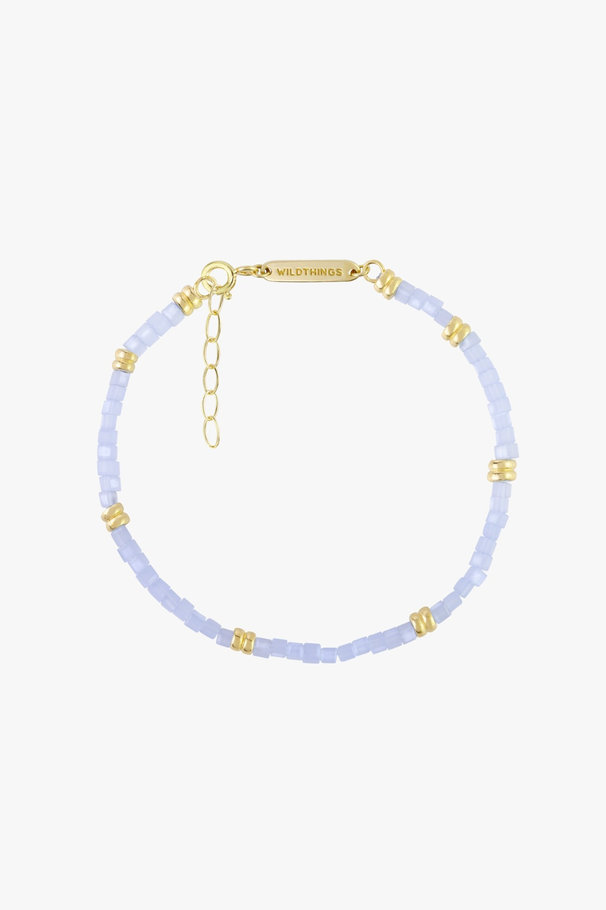 wildthings collectables Blue sky bracelet gold