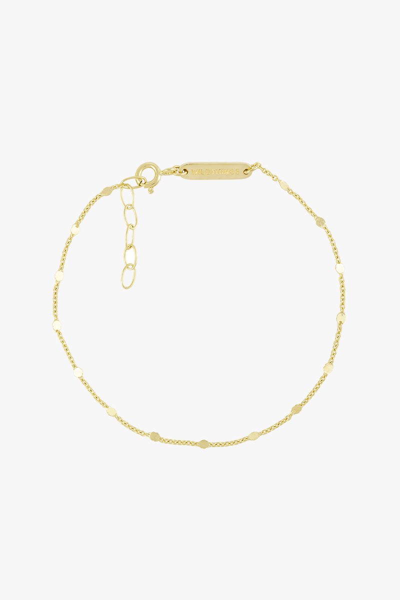 wildthings collectables Small drops bracelet gold