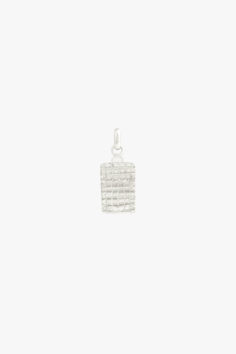 wildthings collectables Crocodile skin pendant silver