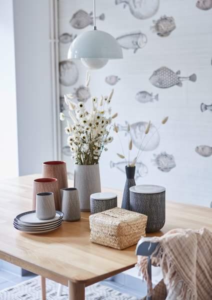 Liv interior Vase CAROL klein Terracotta
