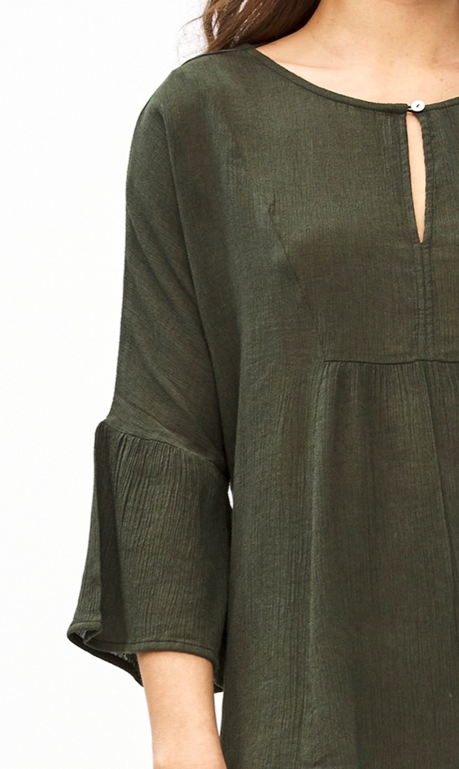 eef blouse - forest night 5