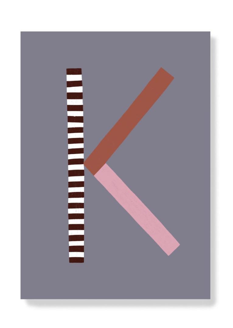 Postkarte - K