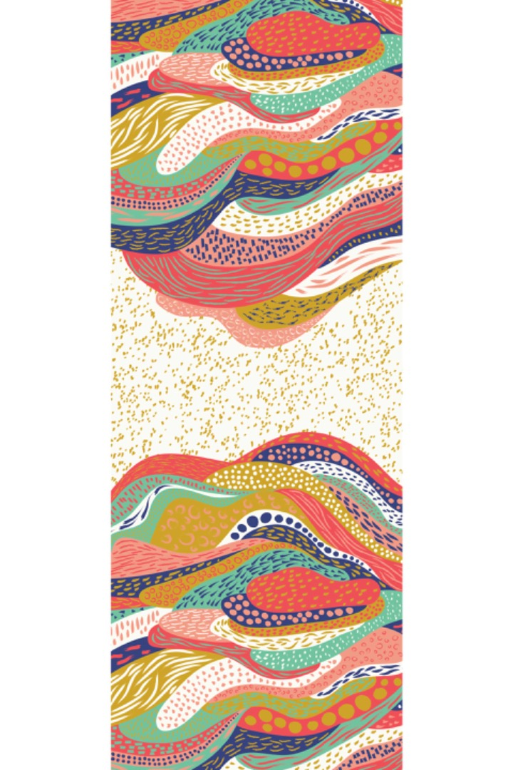 PONS SCARF Colorful 3