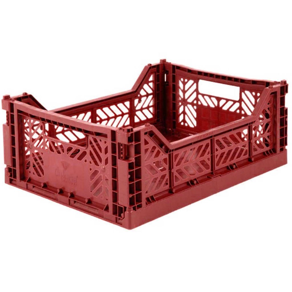 Midi Storage Box - tile red