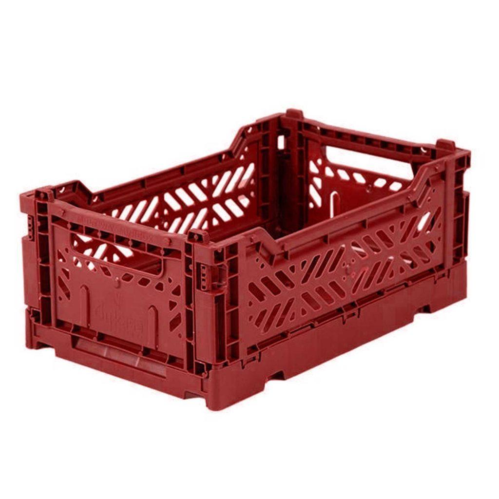 Mini Storage Box - Tile Red