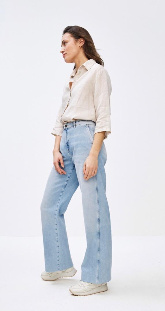 bodil linen blouse - linen 2