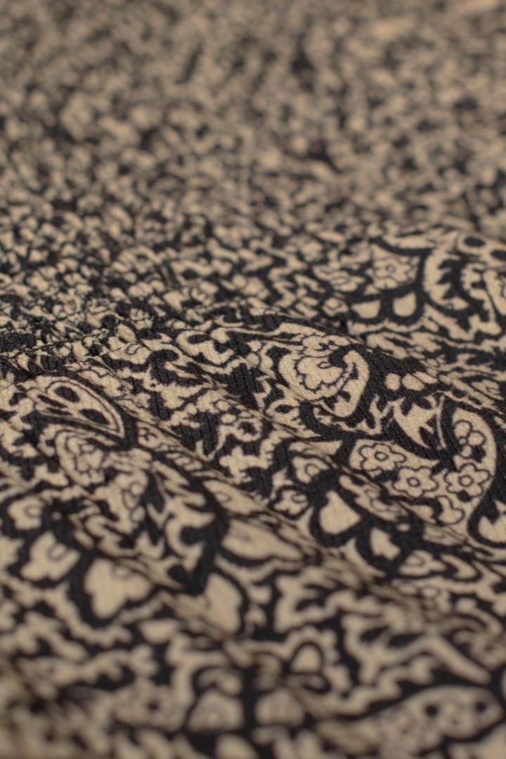 marcia paisley blouse - black 6