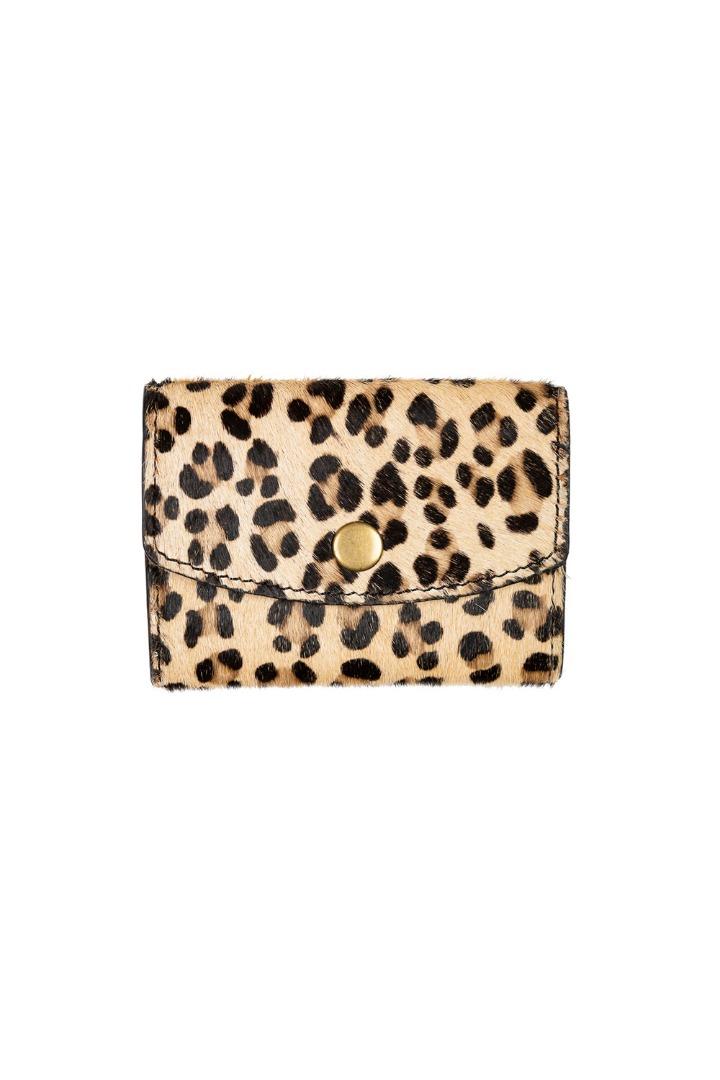 by-bar wallet - leopard