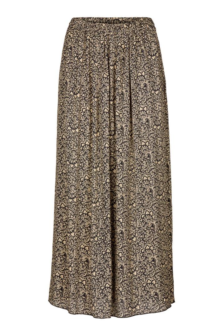 linde paisley skirt - black 6
