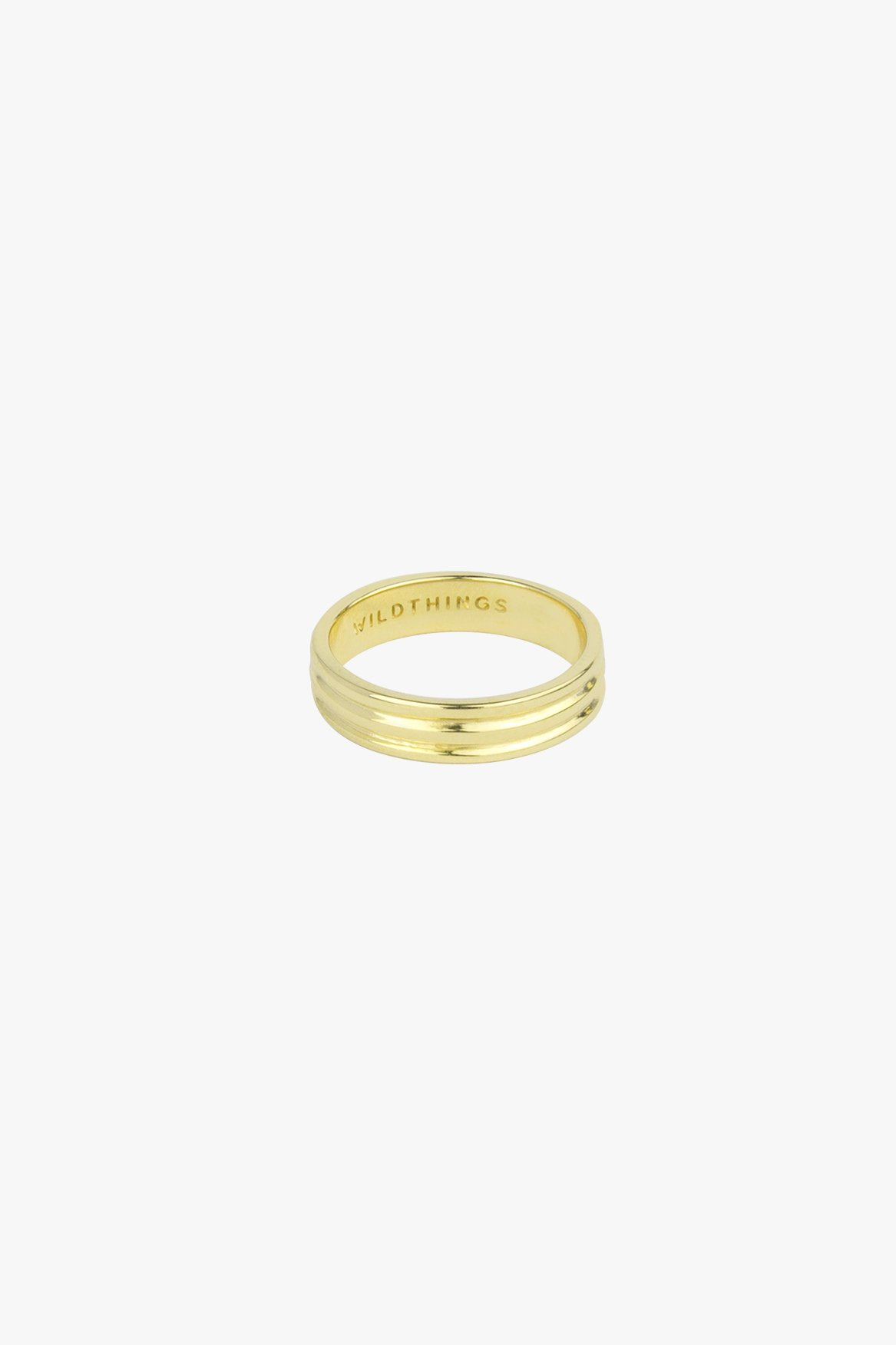 wildthings collectables Triple pinky band gold