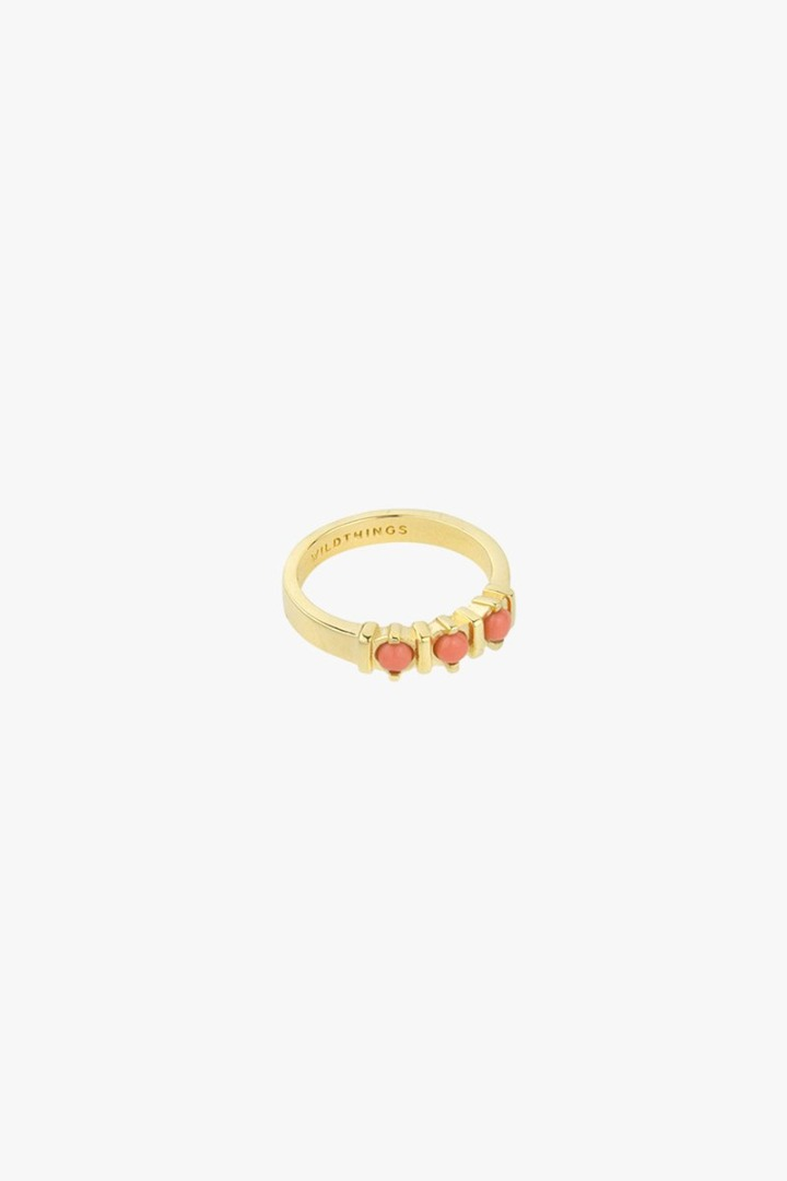 wildthings collectables Vintage peach ring gold