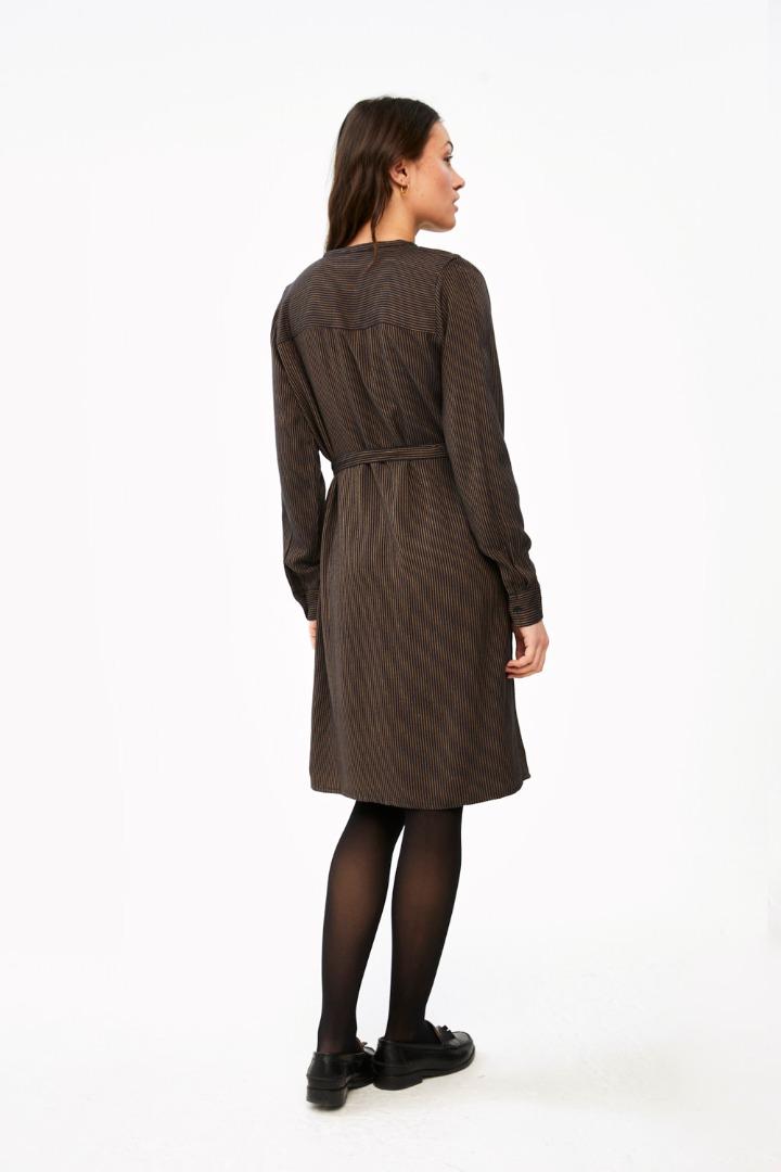 neeltje stripe dress - midnight 2