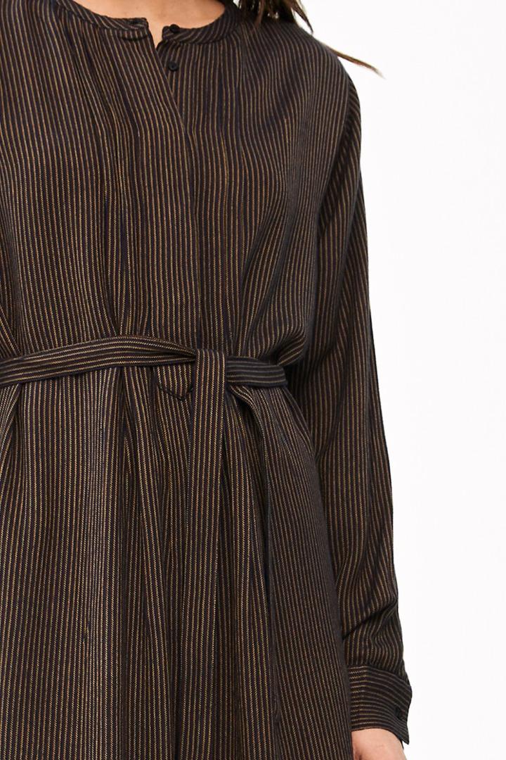 neeltje stripe dress - midnight 6