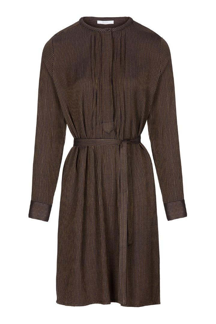 neeltje stripe dress - midnight 5