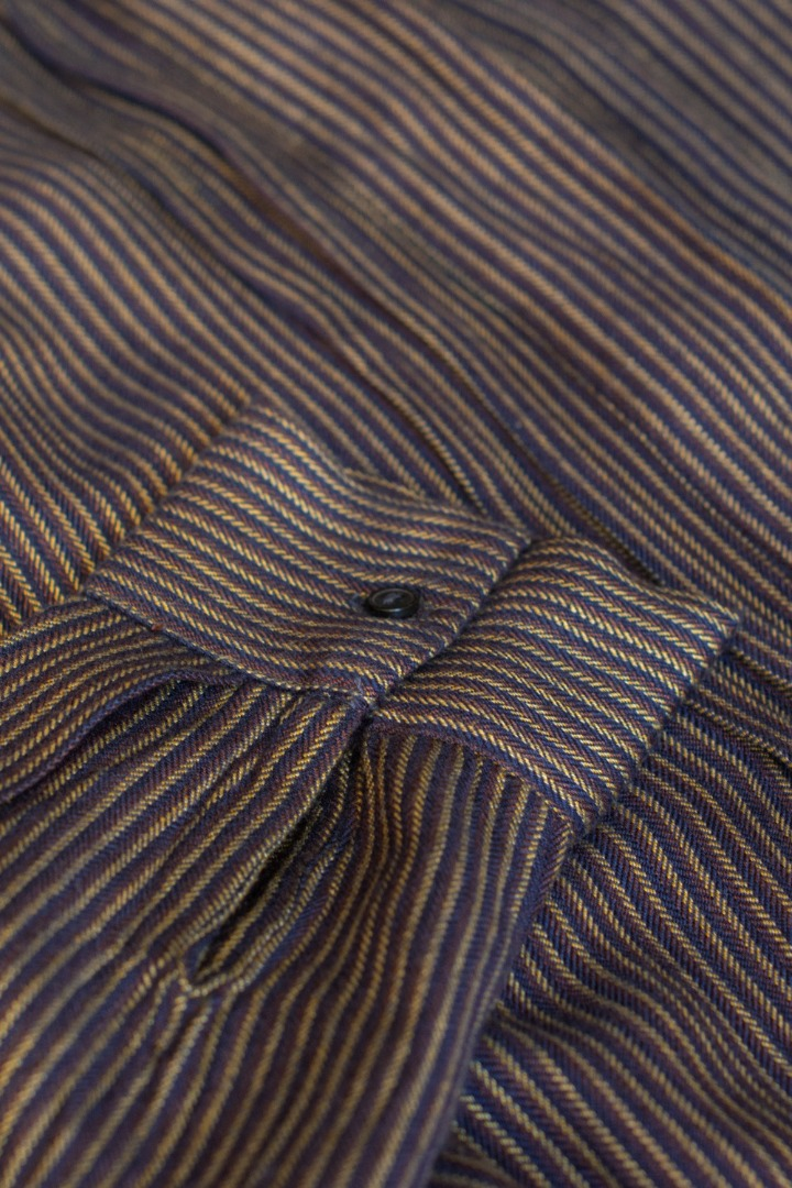 neeltje stripe dress - midnight 4