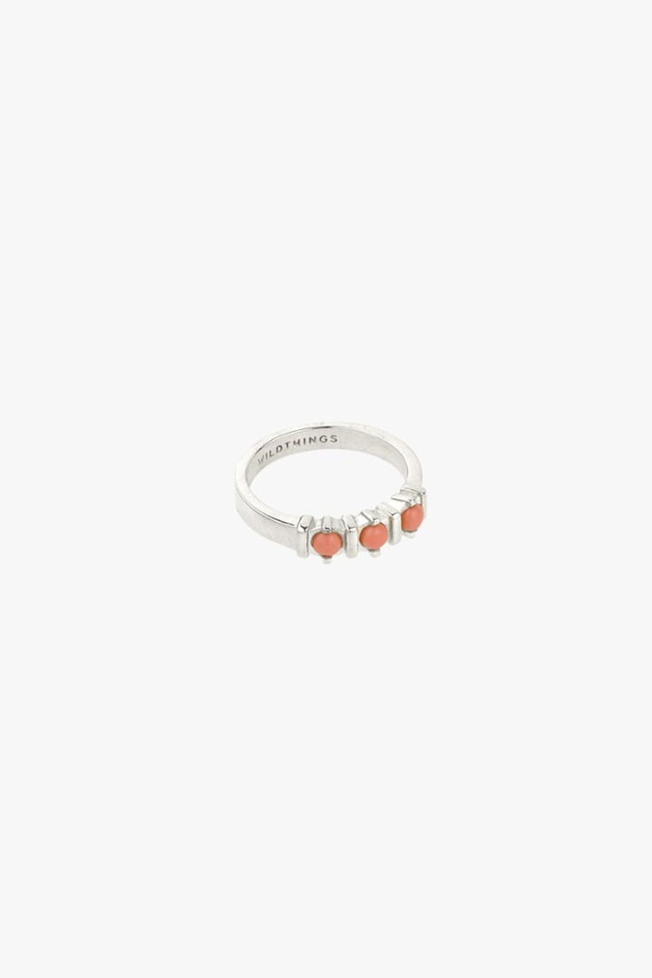 wildthings collectables Vintage peach ring silver