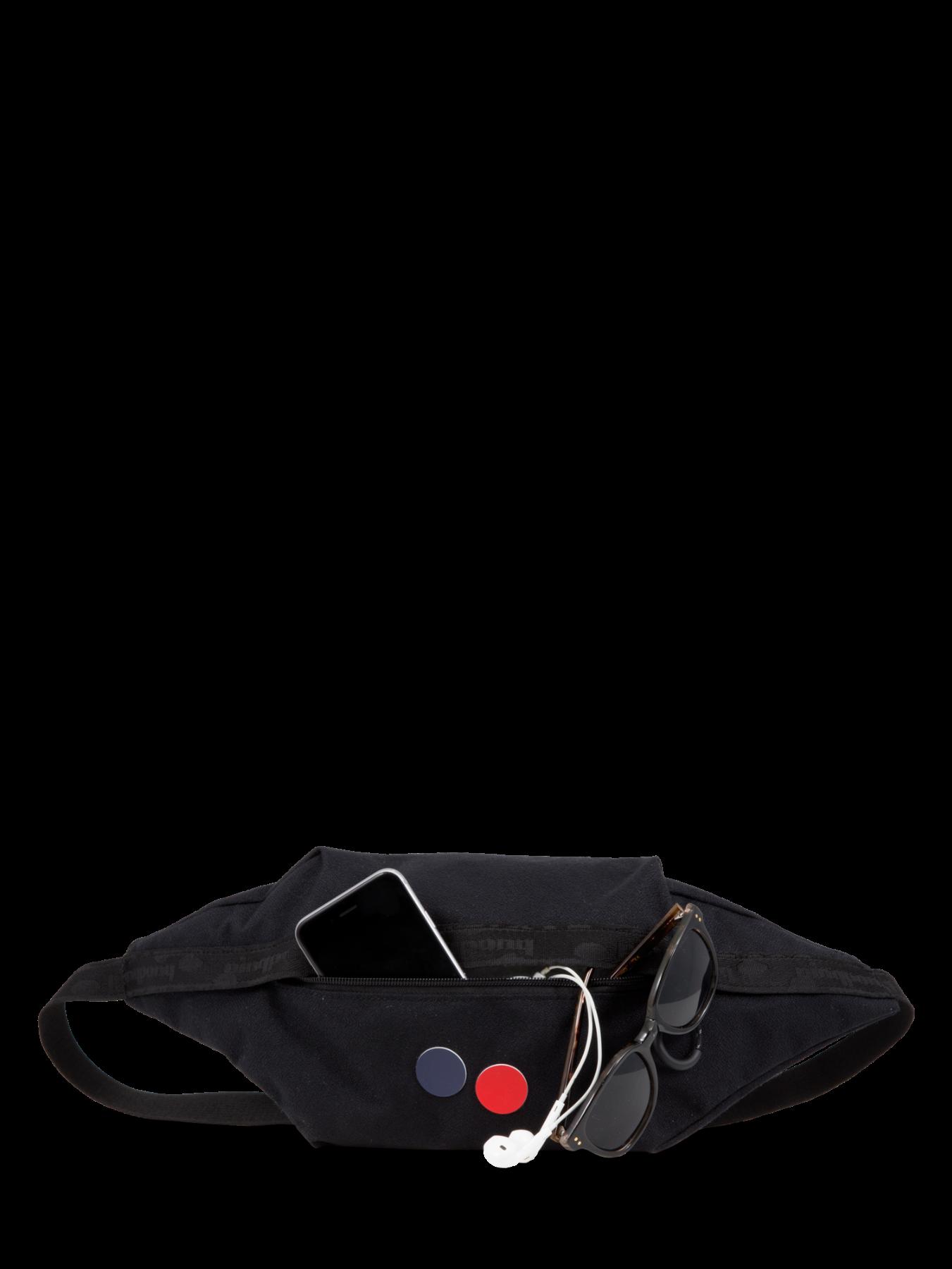 pinqponq Hipbag BRIK - Licorice Black