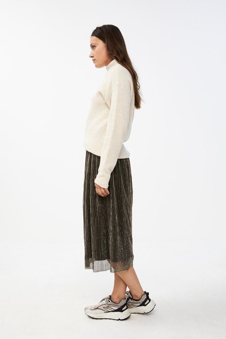 isabelle long skirt - gold 5