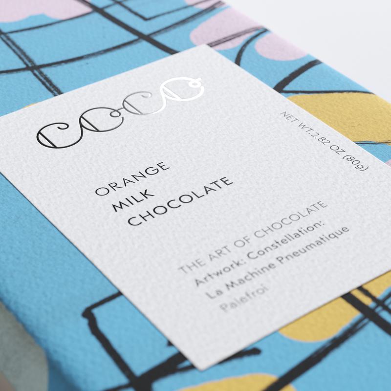 COCO Chocolatier - ORANGE - VOLLMILCH