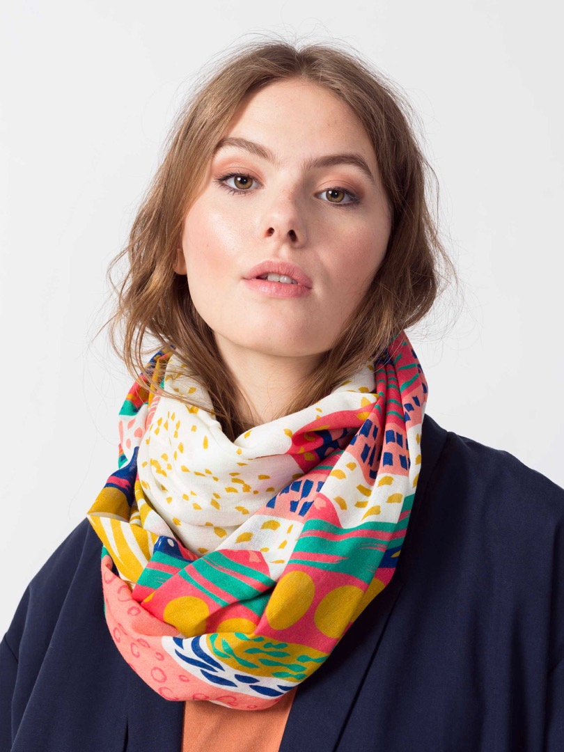 PONS SCARF Colorful