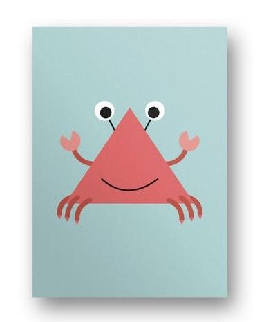 Postkarte Krebs