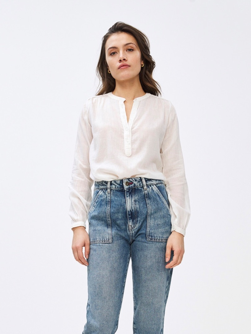 lois blouse - off white