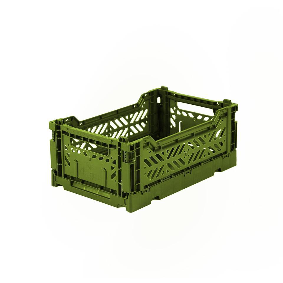 AyKasa Mini Storage Box - olive