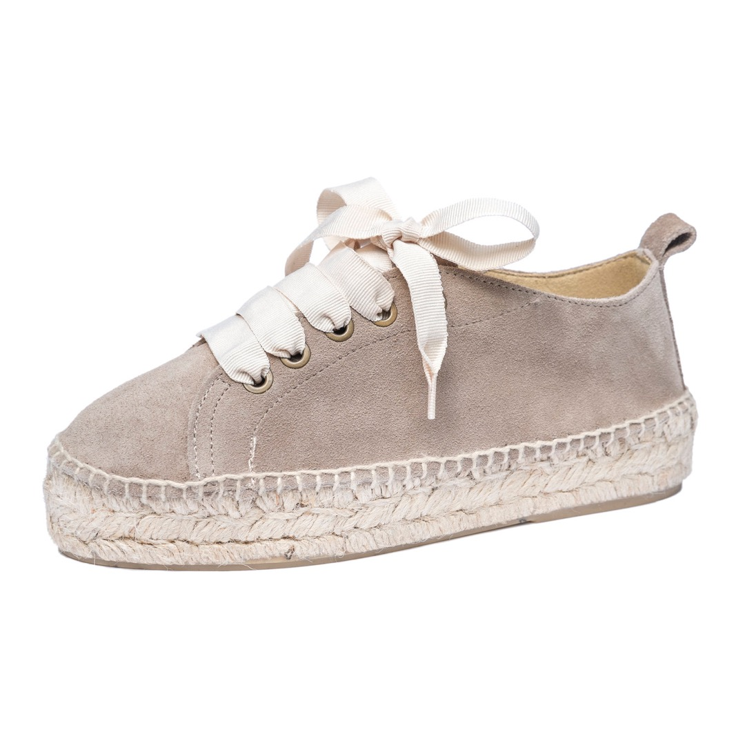 TAUPE ESPADRILLE SNEAKER 2