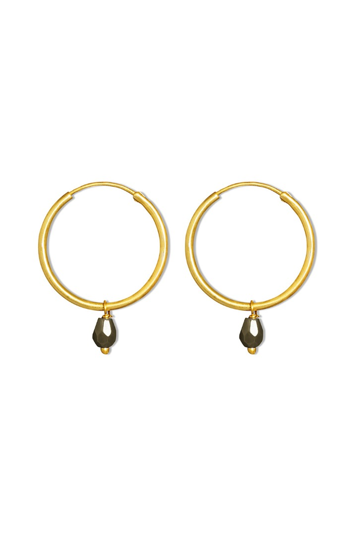 by-bar pd bella earring - biscuit