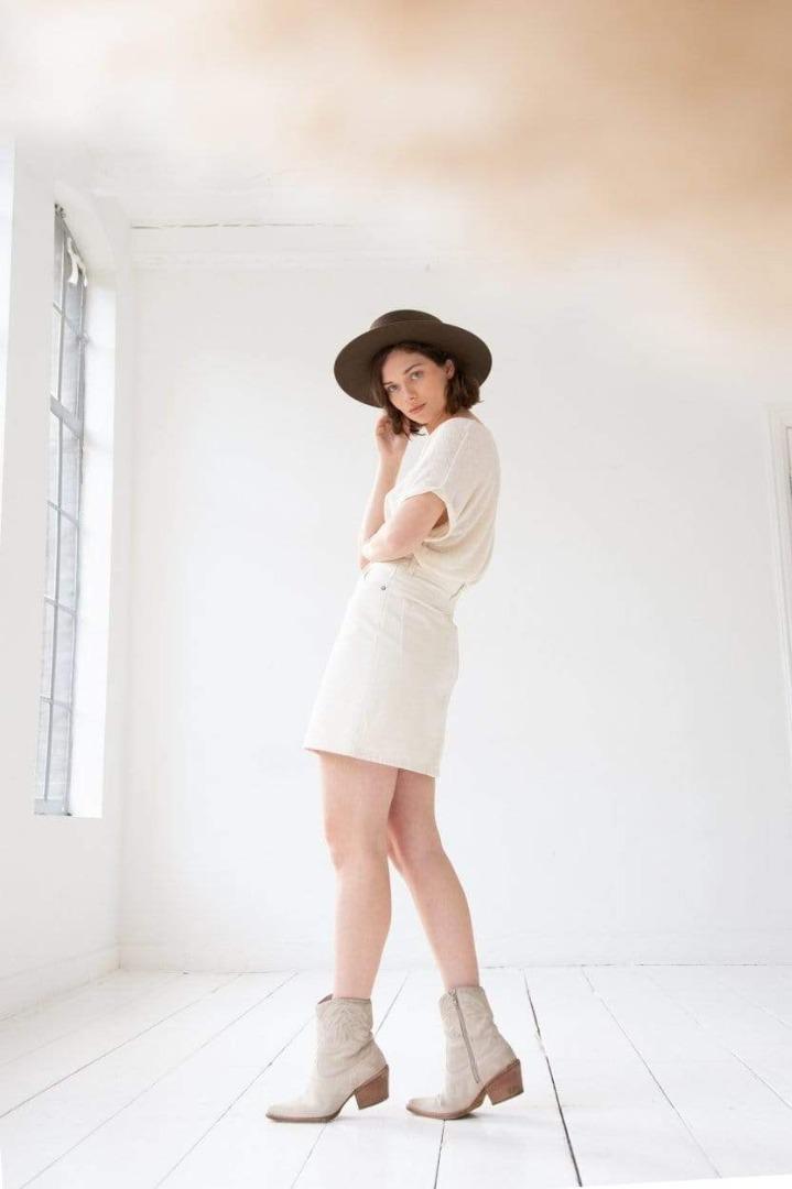 KUYICHI - Dani Skirt off white