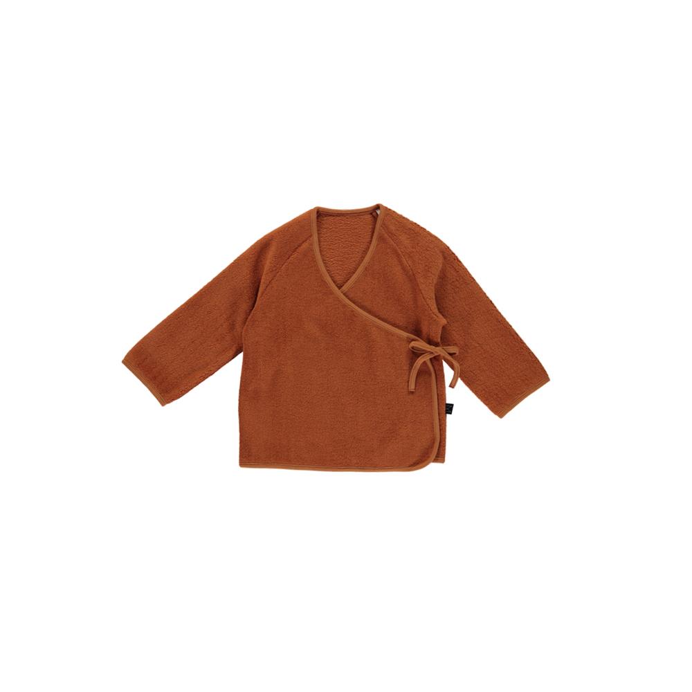 Monkind - Copper Wrap Cardigan Kids
