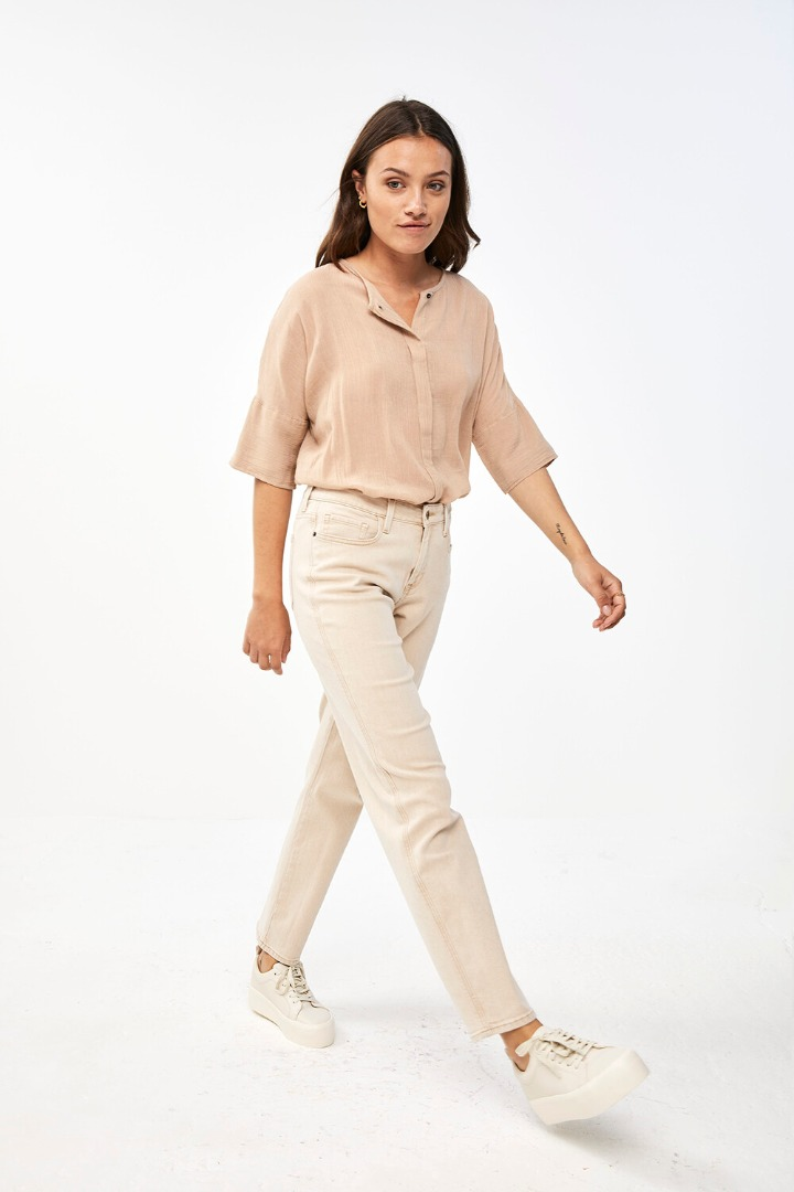 by-bar minde blouse - nude 2