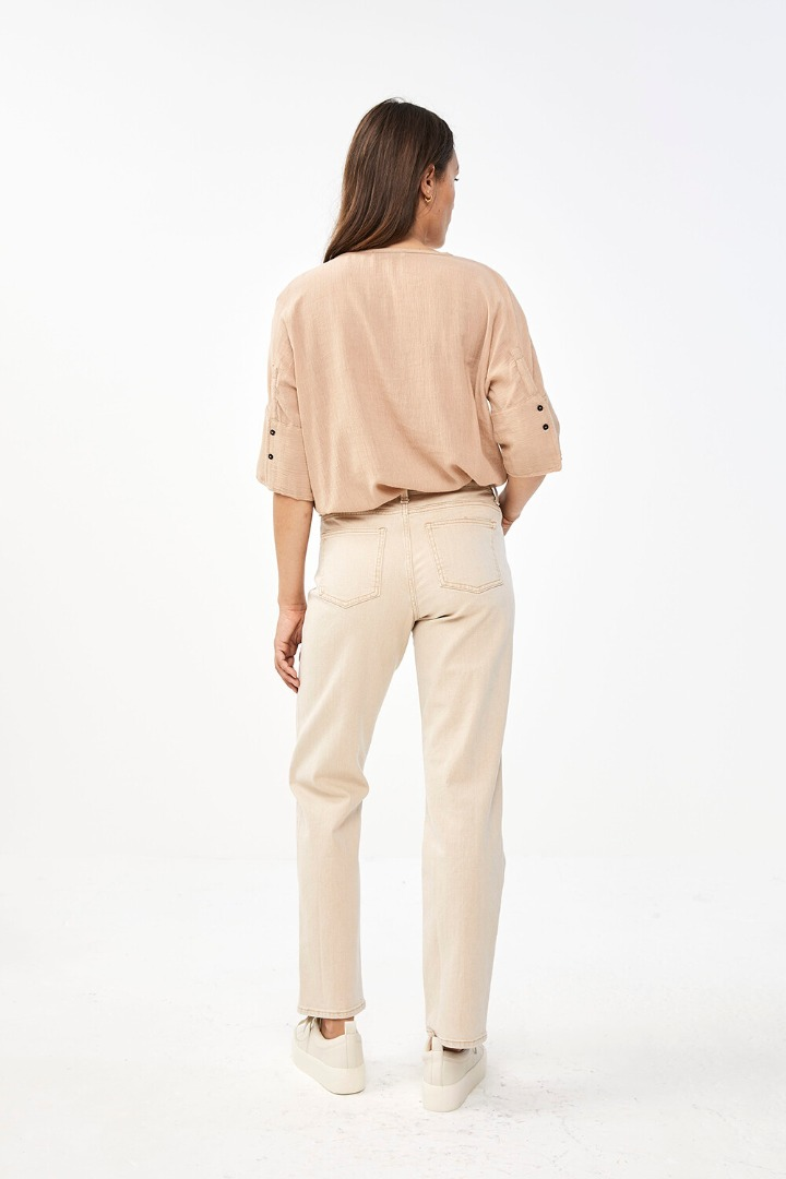 by-bar minde blouse - nude 3