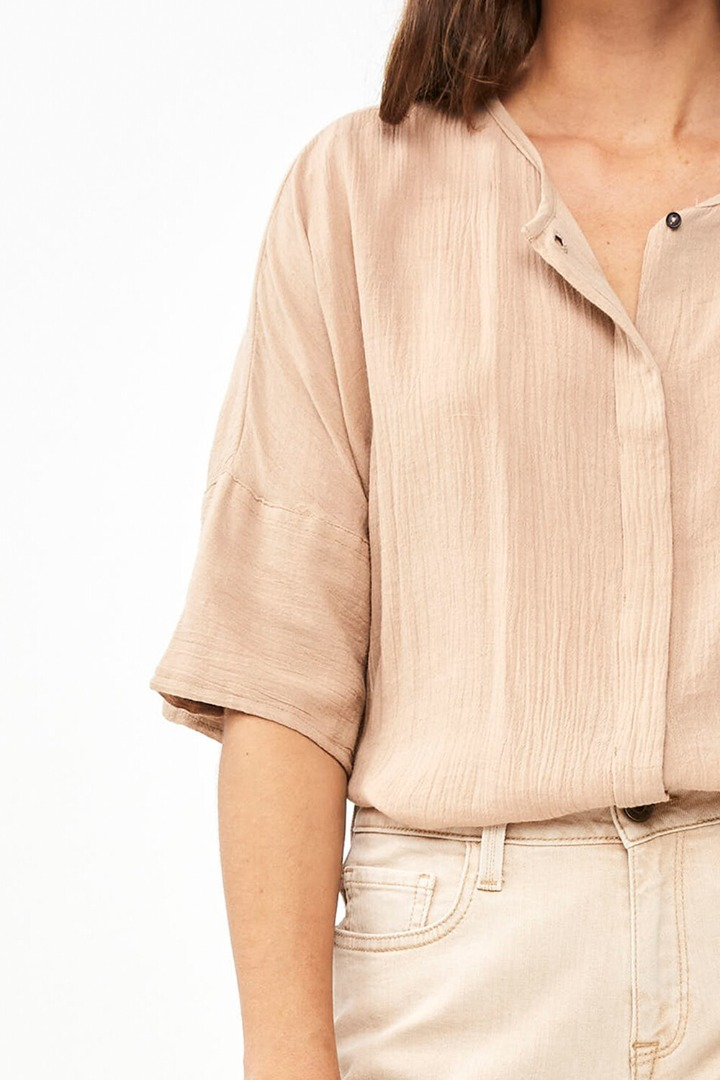 by-bar minde blouse - nude 4