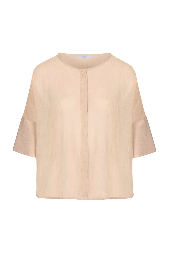 by-bar minde blouse - nude 5