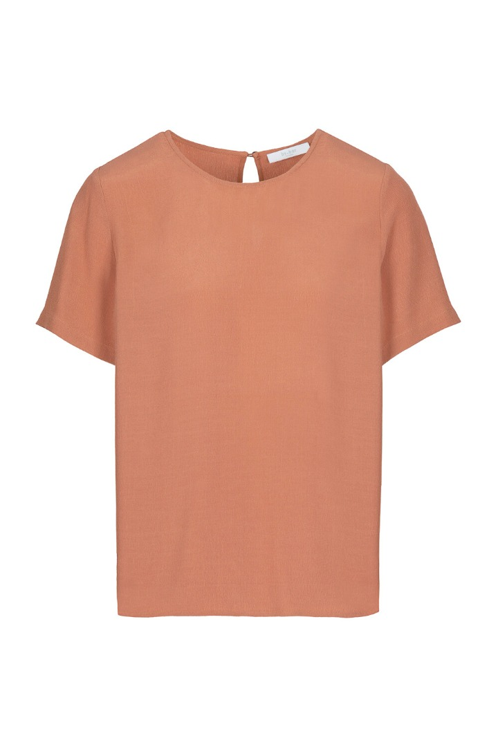 by-bar Silke blouse - copper 3