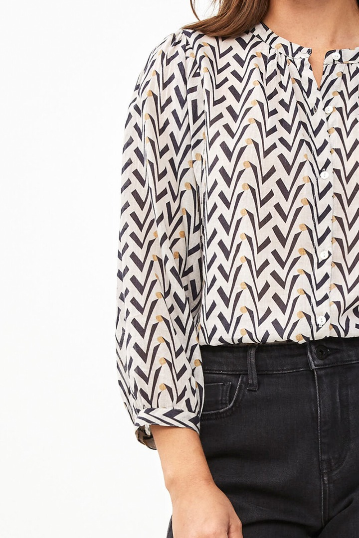 by-bar lora coconut blouse egg shell