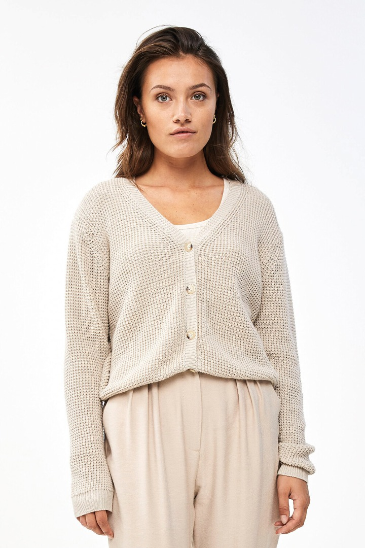 by-bar malu oceano cardigan - linen