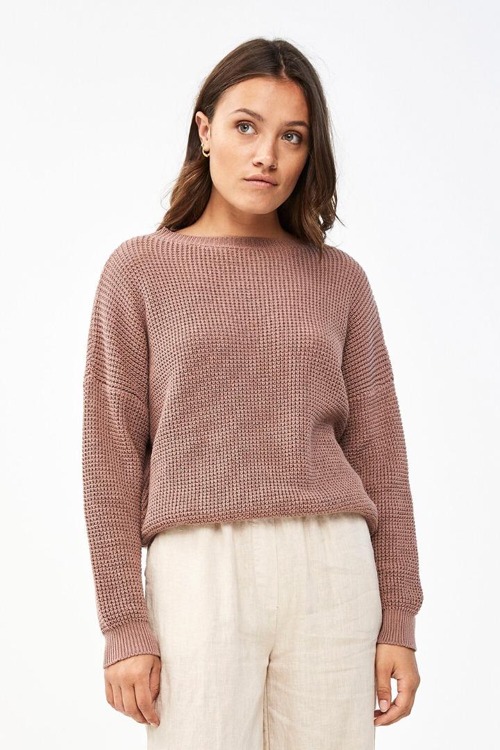by-bar malu pullover - plum