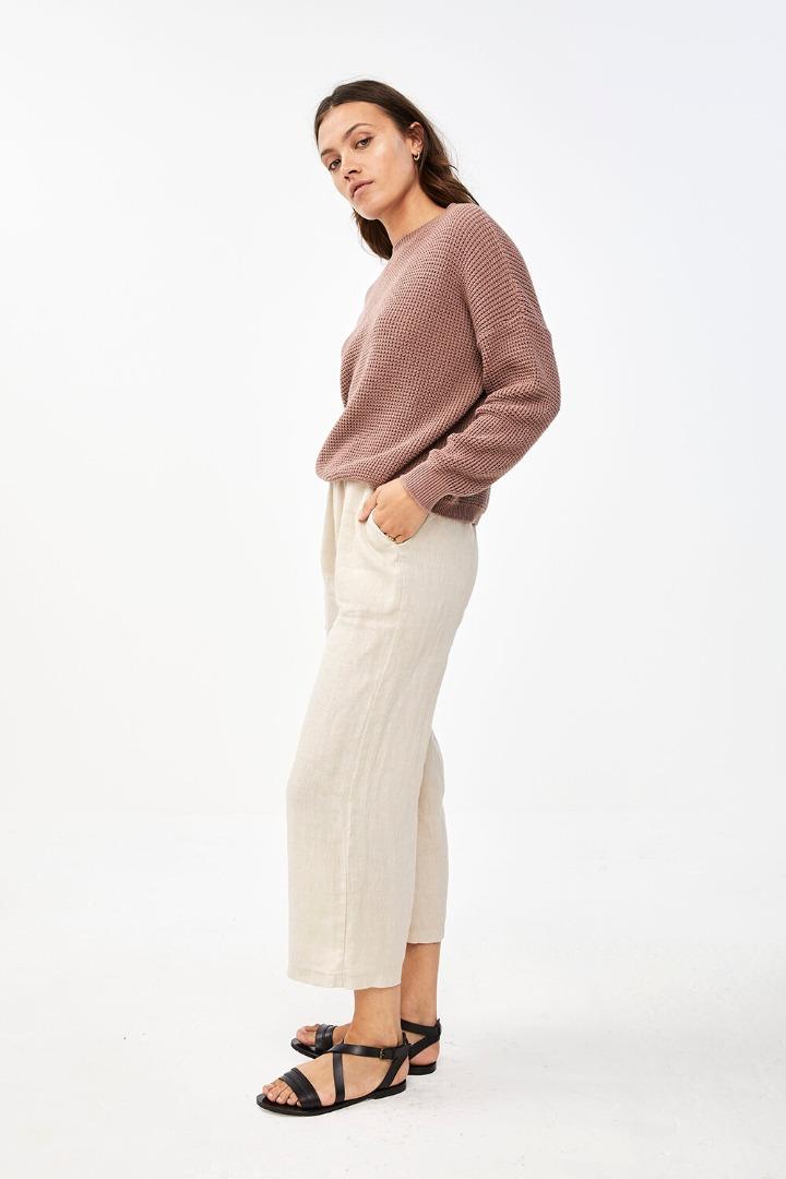 by-bar malu pullover - plum 2