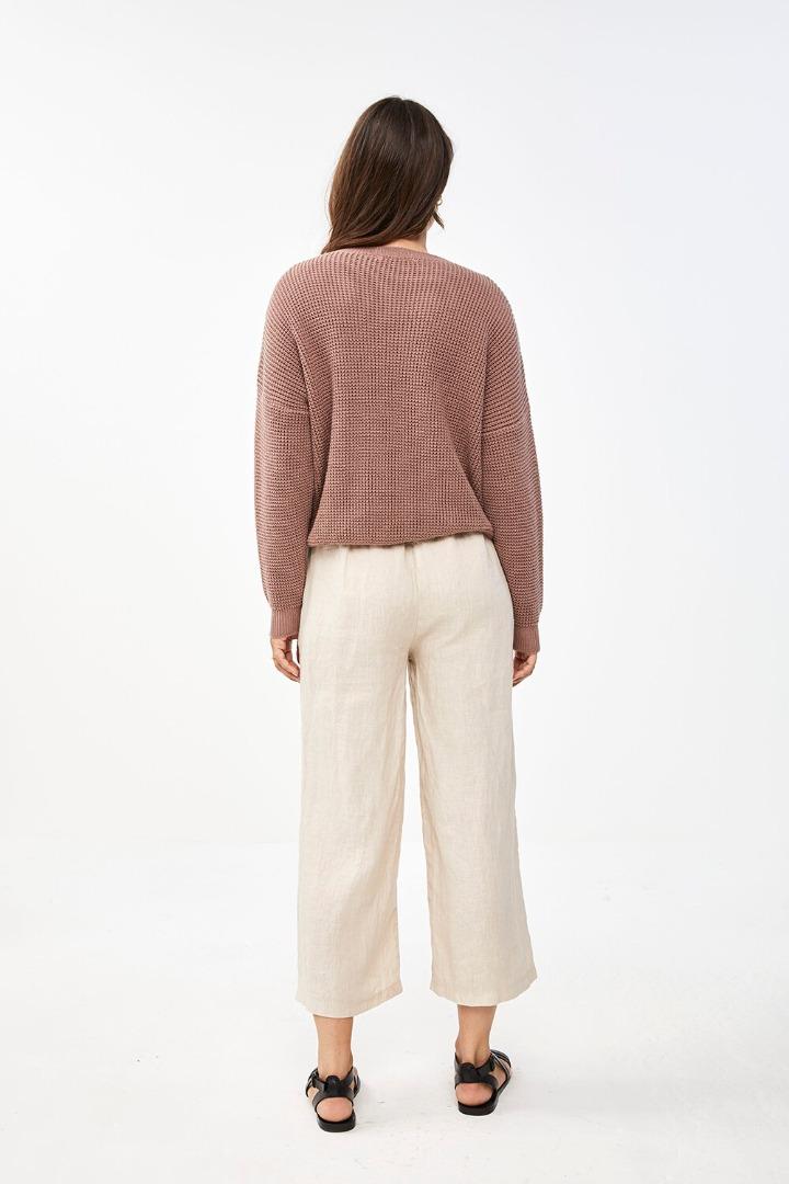 by-bar malu pullover - plum 3