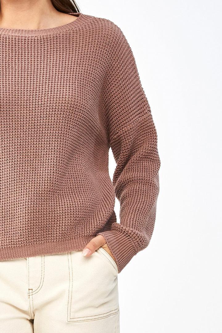 by-bar malu pullover - plum 5