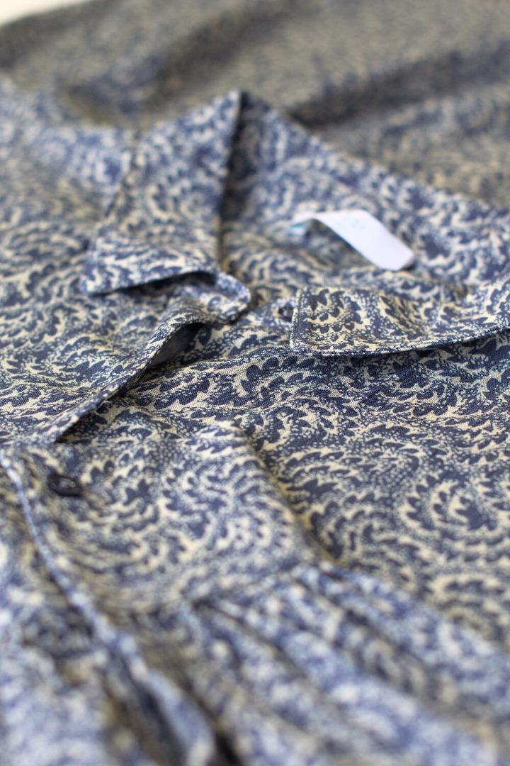 by-bar yara botanic dress - blue