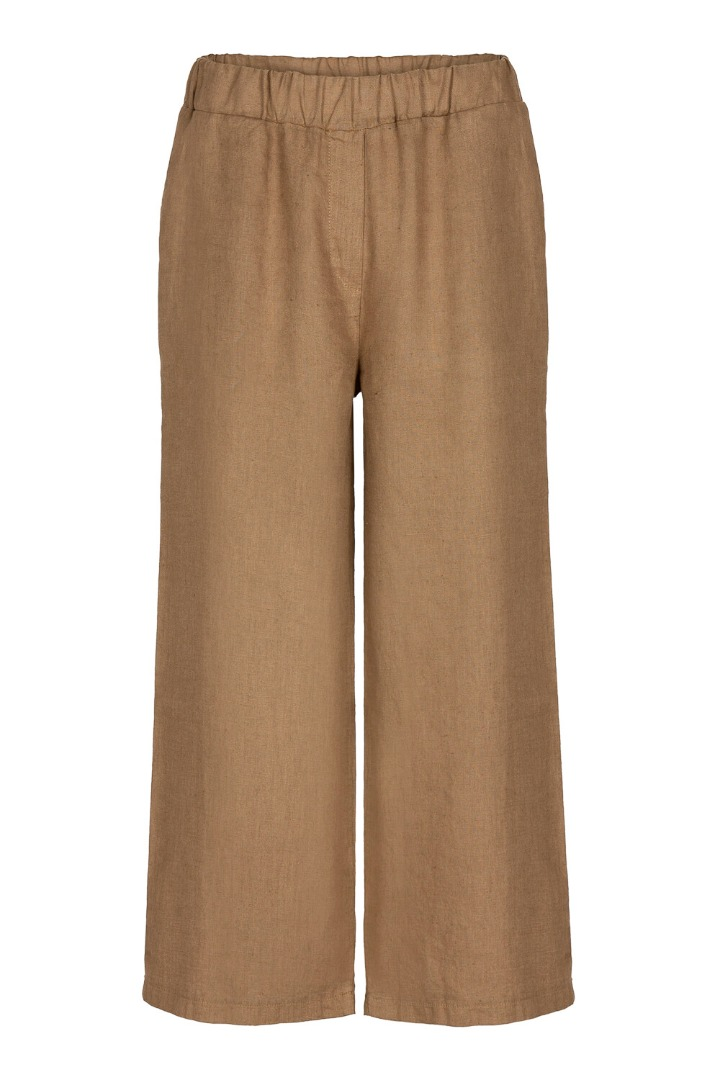 by-bar ines linen pant - sepia