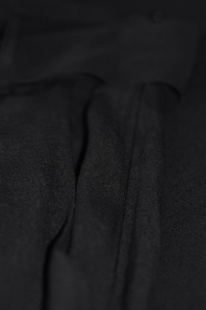 by-bar wanda crepe pant jet black
