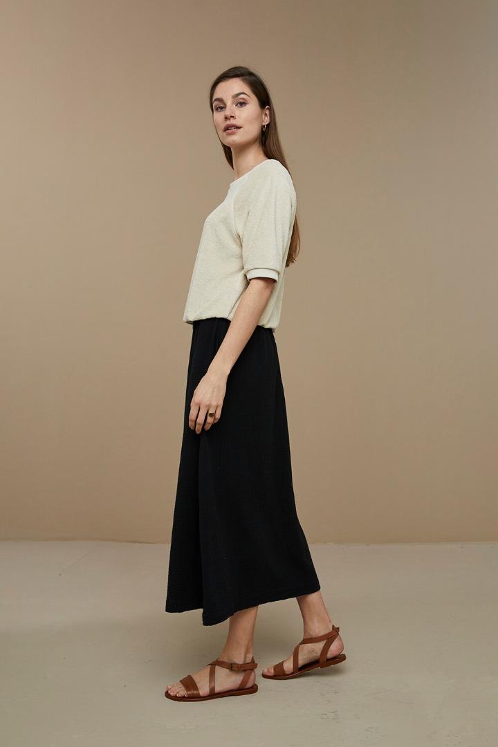 by-bar nine skirt - black 3