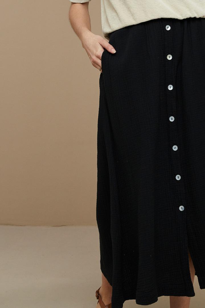 by-bar nine skirt - black 5